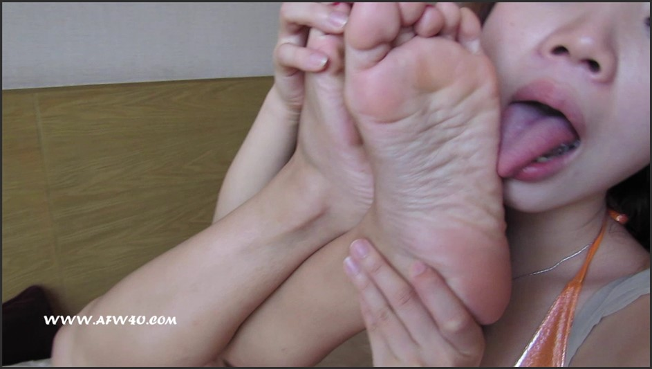 AsianFootWorship – Kiki's Initiation Part 2